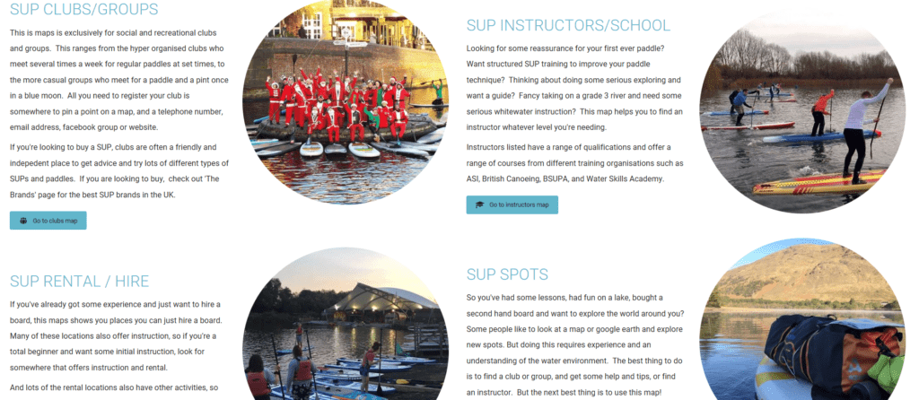 SUP hub UK | SUP clubs | SUP schools and instructors