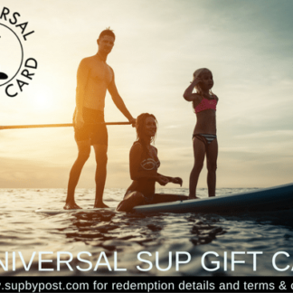 Universal paddleboard Gift Card, SUP gift card